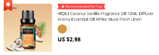 HIQILI Coconut Vanilla Fragrance Oil 10ML Diffuser Aroma Essential Oil White Musk Fresh Linen Strawberry Mango Sea Breeze