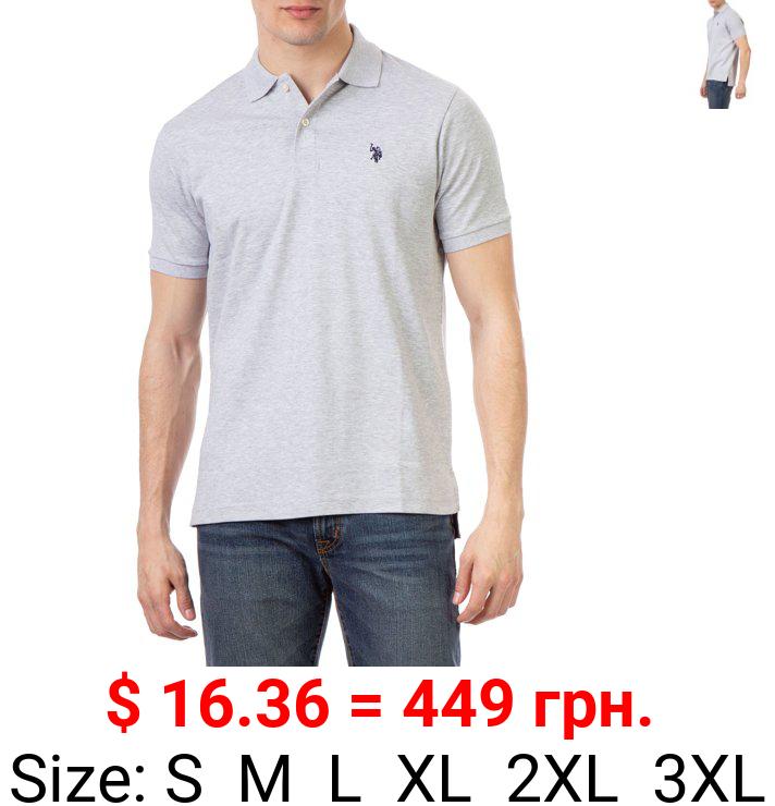 U.S. Polo Assn. Men's Interlock Polo Shirt