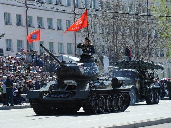 Военный парад и шествие «Бессмертного полка» планируют провести 9 мая в Хабаровске