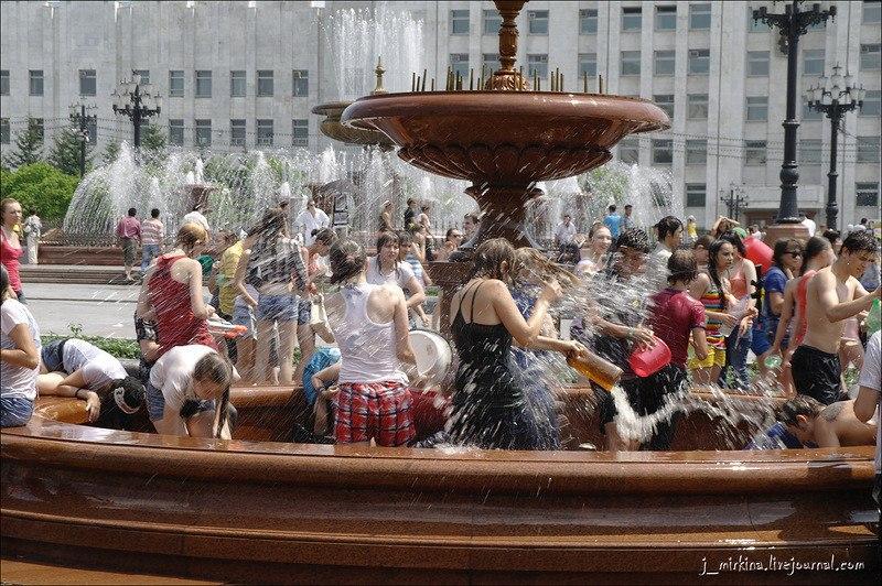 Субтропическая жара пришла в Хабаровск