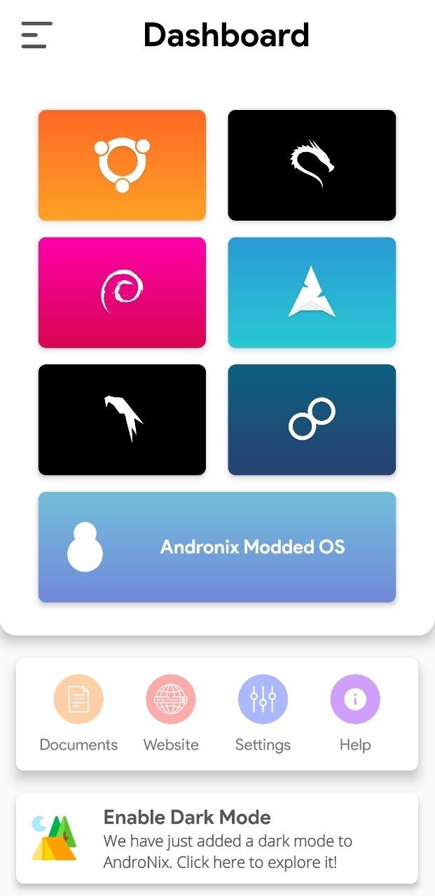 Come installare Linux su Android con AndroNix
