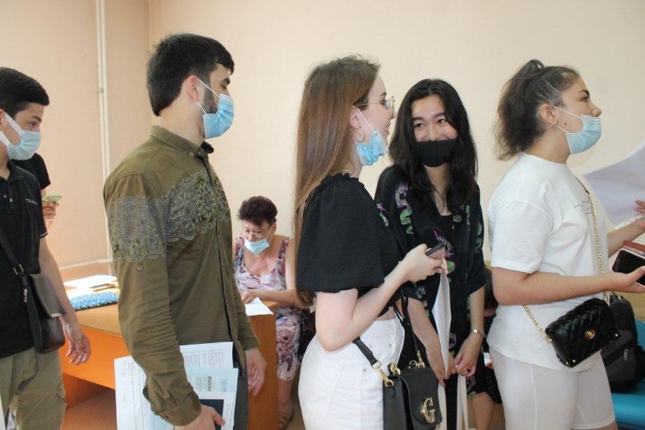 Первый опорный пункт вакцинации студентов против коронавирусной инфекции начал работу в Хабаровске