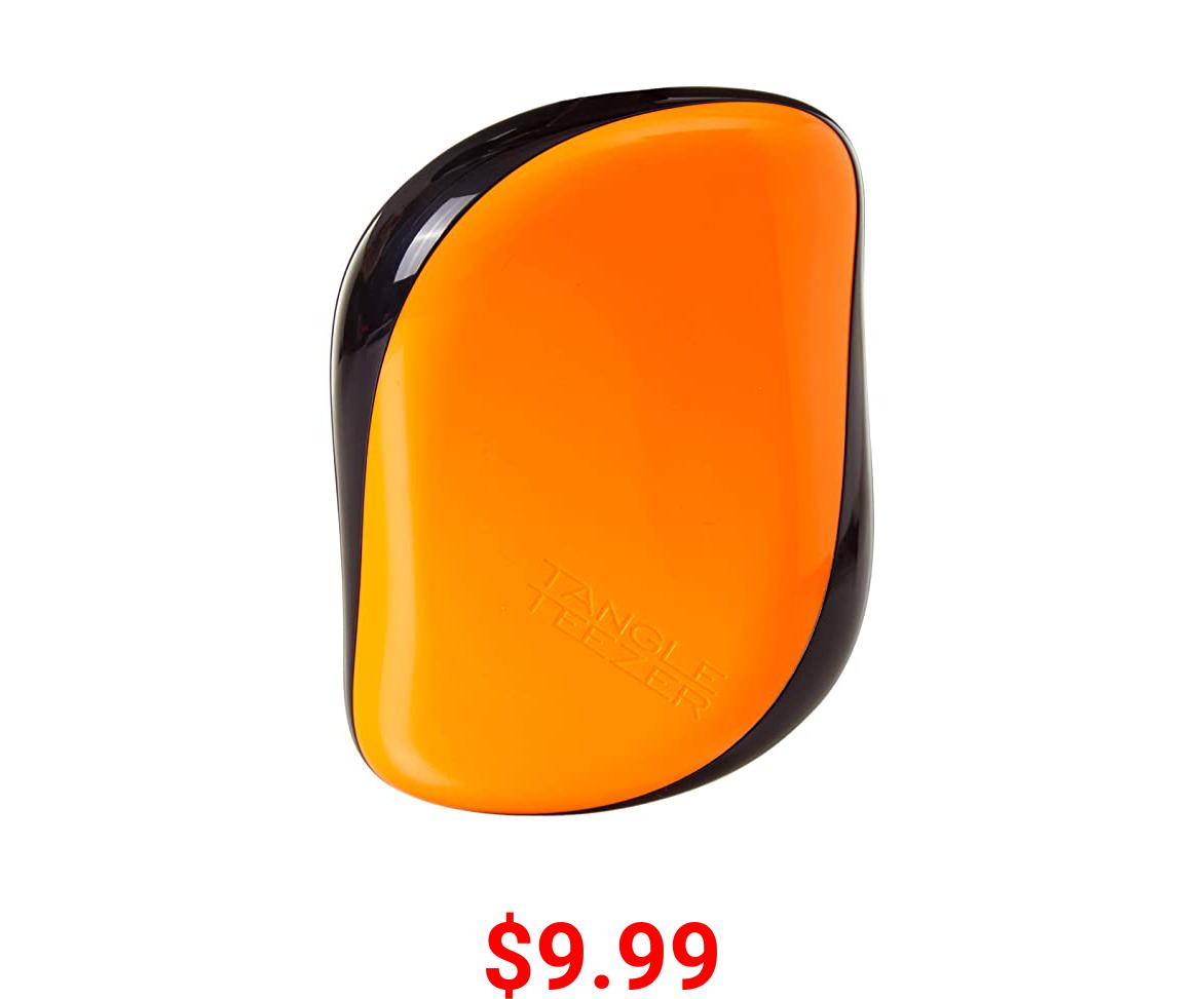 Tangle Teezer Compact Styler Detangling Hairbrush, Orange Flare