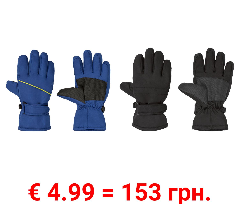 CRIVIT® Kinder Jungen Handschuhe, warm gefüttert