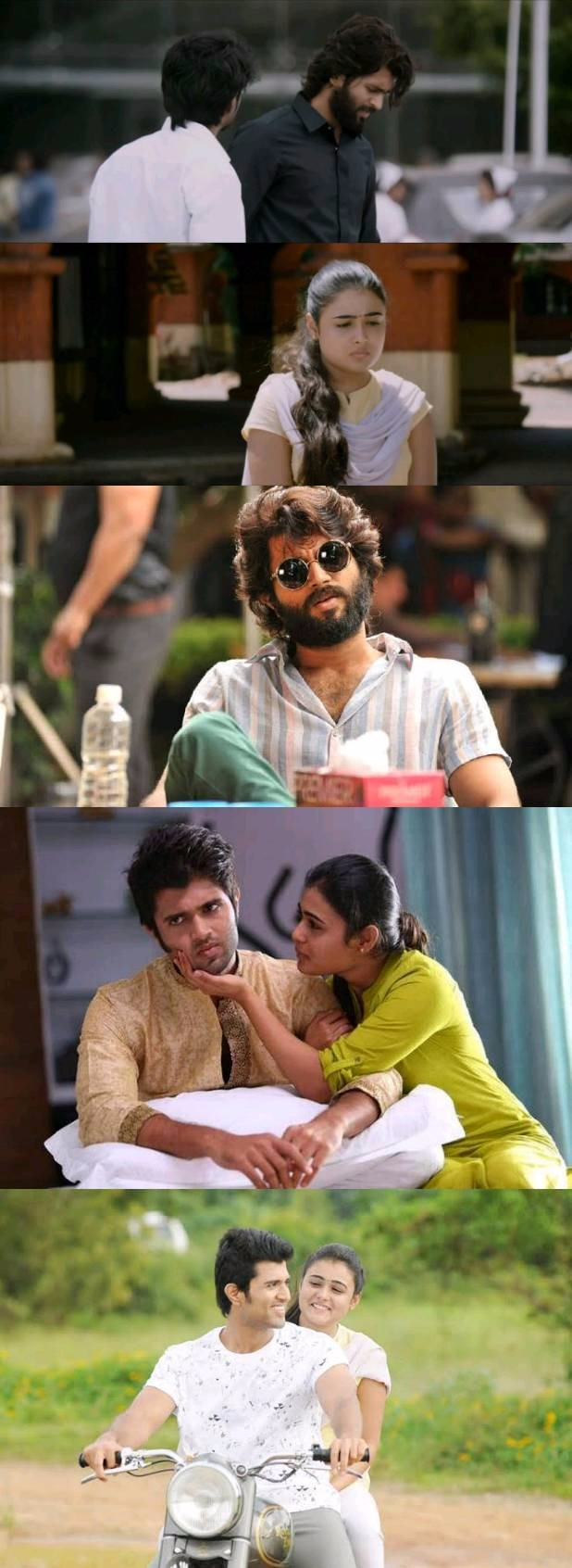 Arjun Reddy 2017 Telugu HDrip 480p 500MB 720p 950MB Hindi Subs