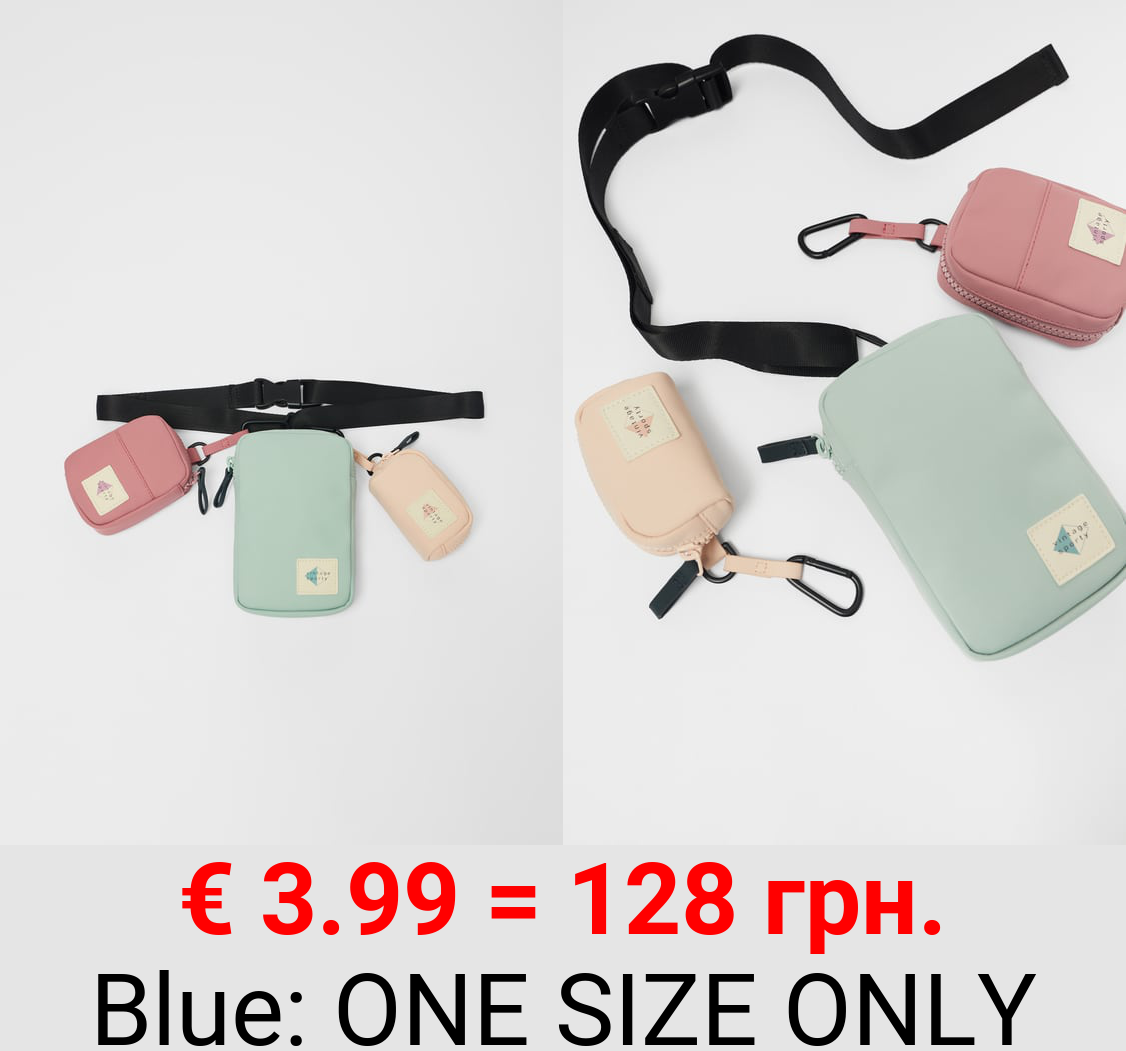 RUBBERISED POUCH BAG