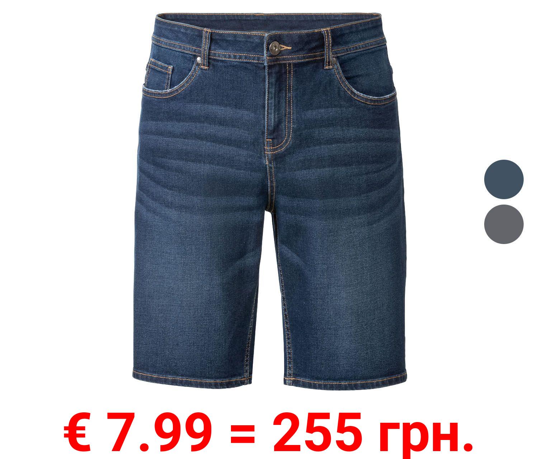 LIVERGY® Herren Jeans Bermuda