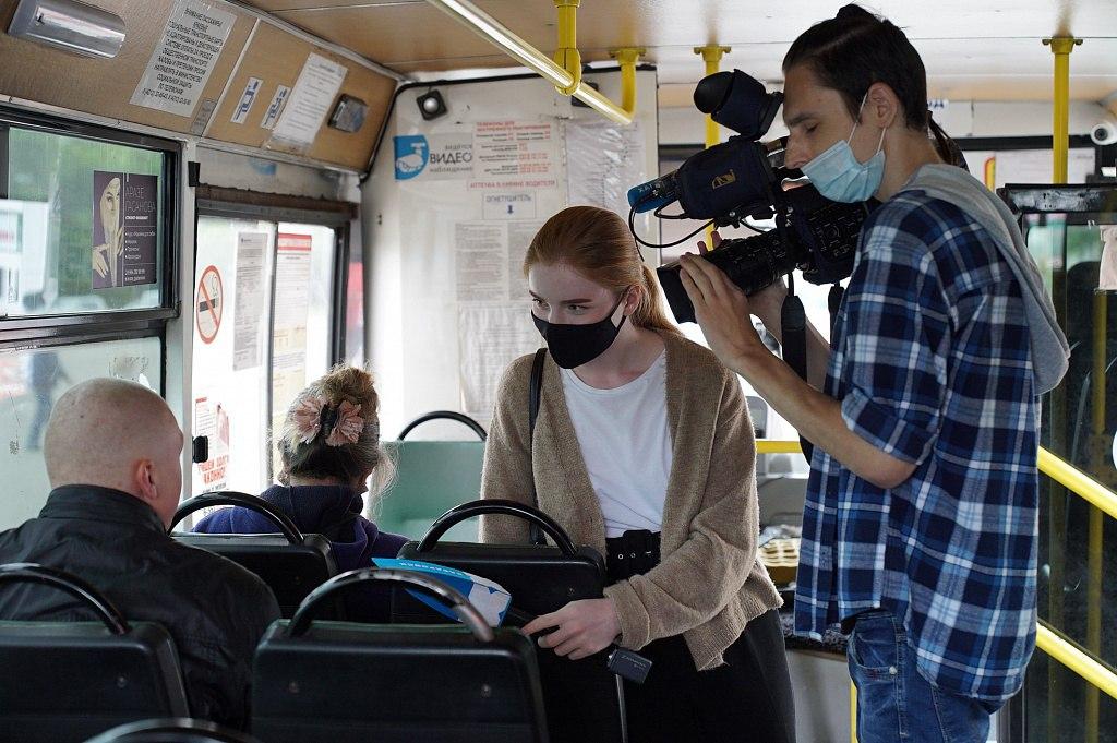 Протоколы выписали на водителей автобусов без масок в Хабаровске