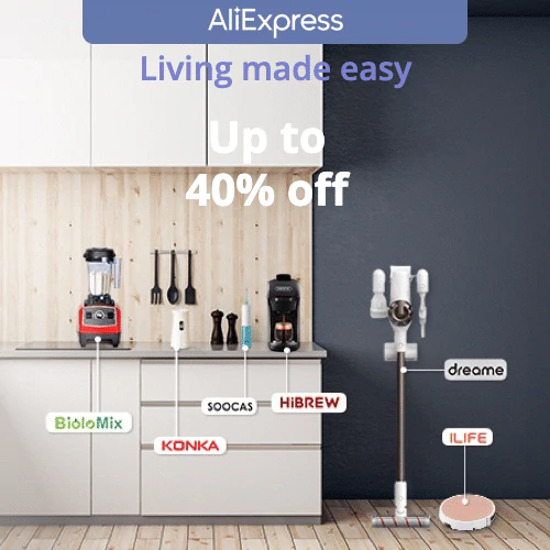 Living made easy  Get up to 40% off household appliances