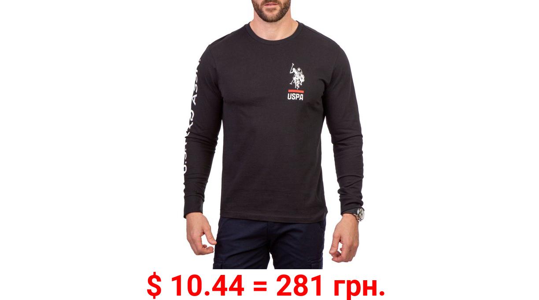 U.S. Polo Assn. Men's and Big Men's Long Sleeve Graphic T-Shirt