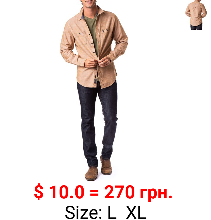 U.S. Polo Assn. Men's 2 Pocket Button Down Shirt