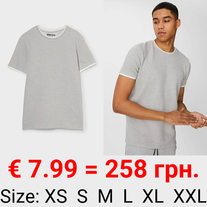 CLOCKHOUSE - T-Shirt - 2-in-1-Look