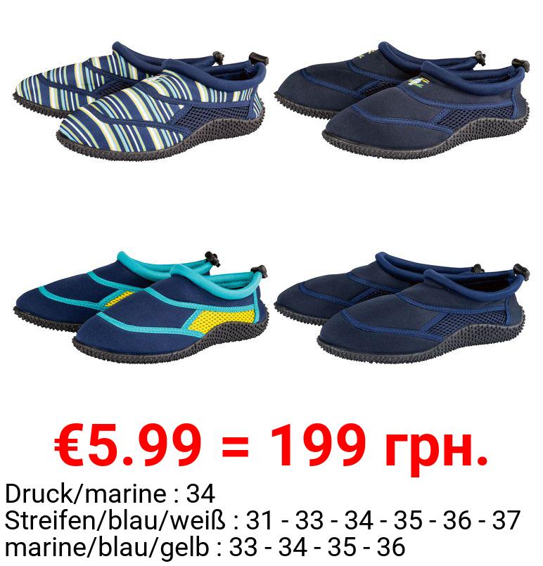 PEPPERTS® Kinder Aquaschuhe Jungen, mit flexibler Sohle