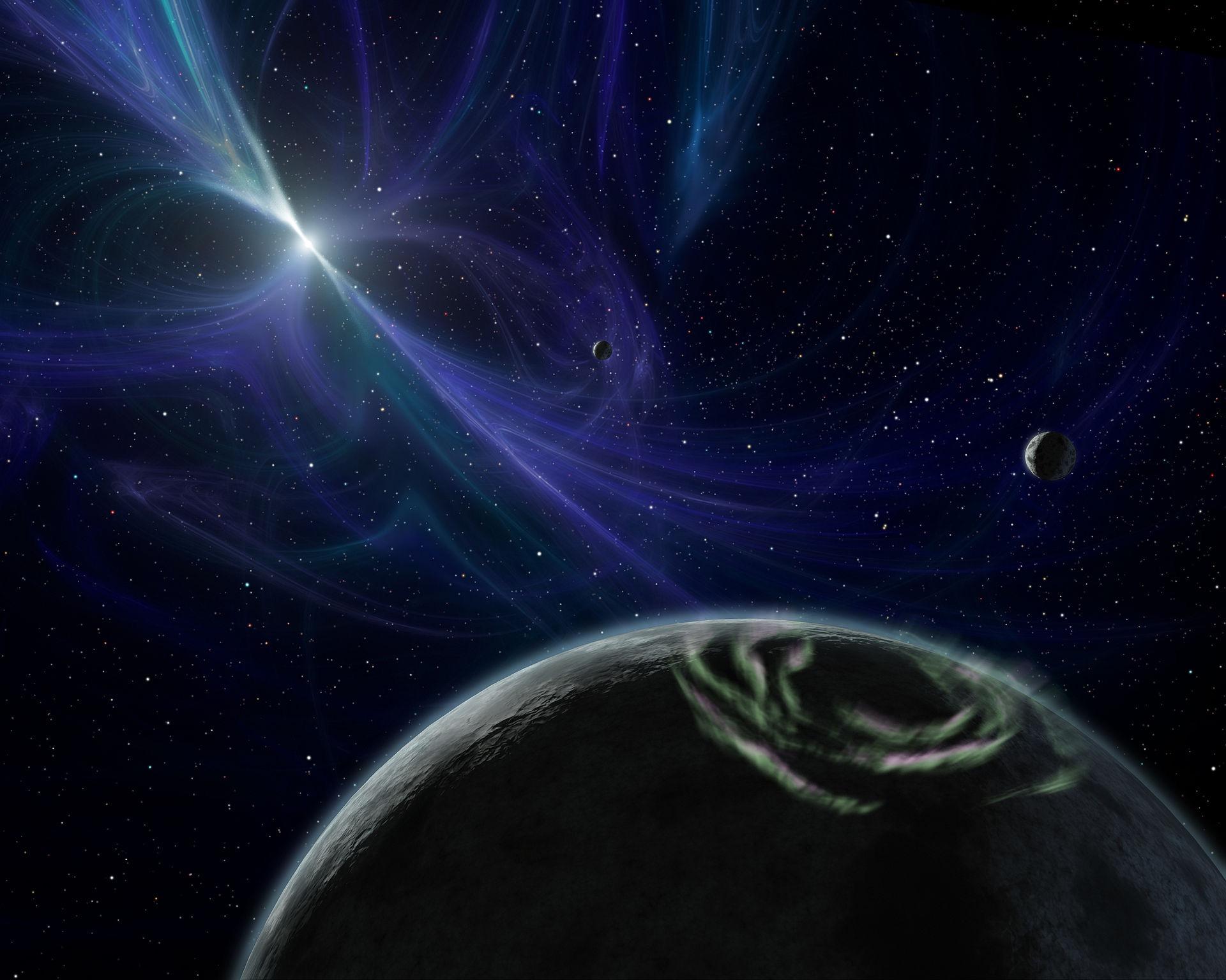 Дыры в космосе затыкают землей