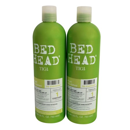 TIGI Bed Head Sham poo & Condit ioner Re-Energize Set 25.36 OZ ea