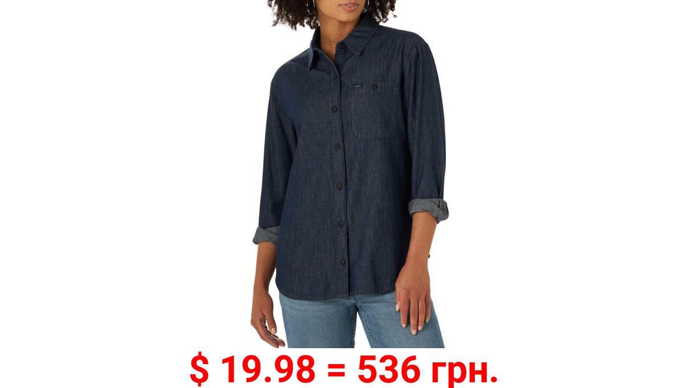 Lee Women's All Purpose Denim Long Sleeve Shirt