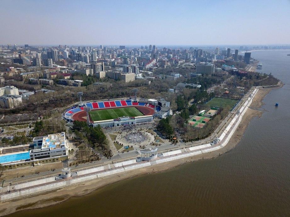Места для летней торговли на набережной в Хабаровске краевые власти разыграют на открытом аукционе