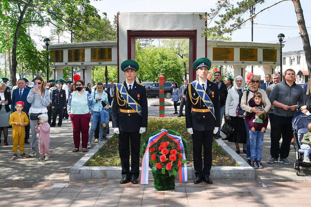 День пограничника прошел в Хабаровске