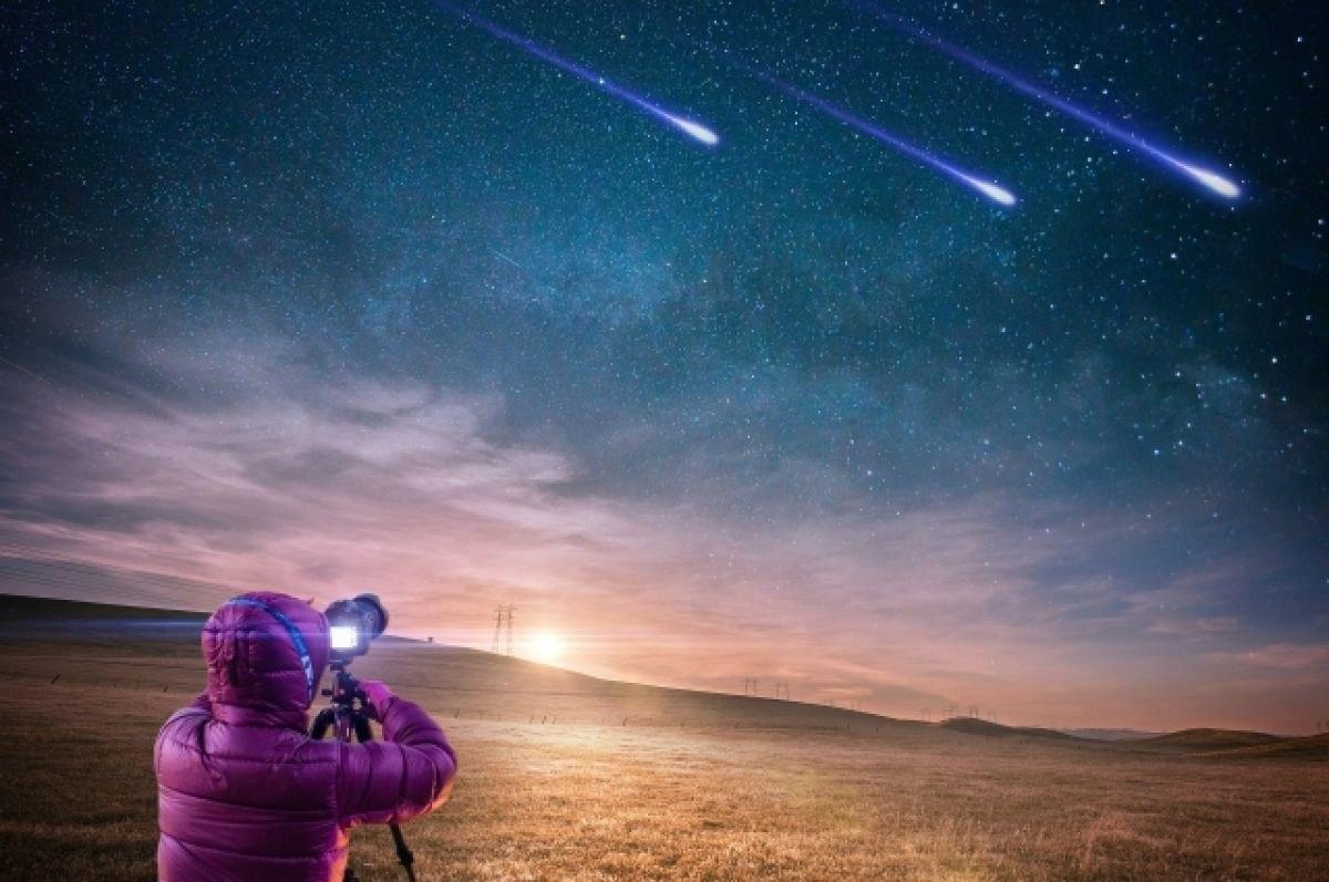 Хабаровчане увидят летящие метеориты Персеиды
