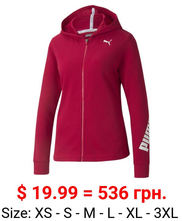 Modern Sports Full-Zip Women's Hoodie