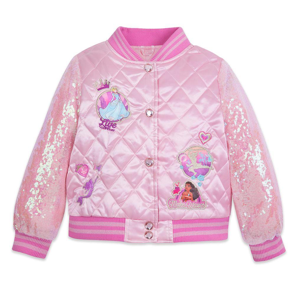Disney Princess Quilted Varsity Jacket