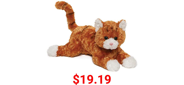 """GUND Tabby Cat Plush Stuffed Animal 14"""", Orange and White"""