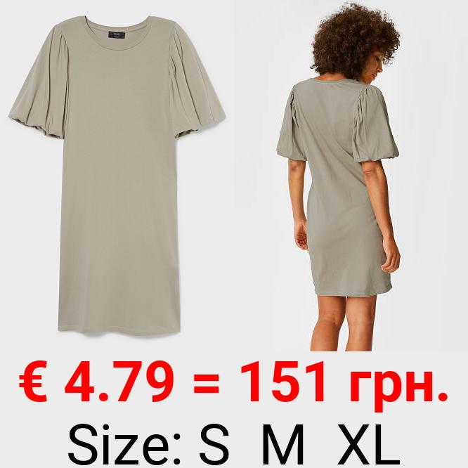 Column Kleid - Bio-Baumwolle