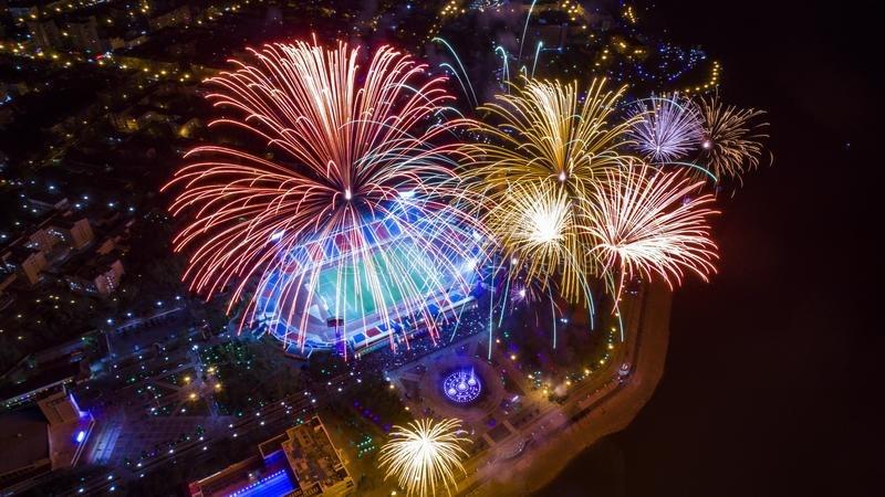 В Хабаровске запретили фейерверки на Новый год