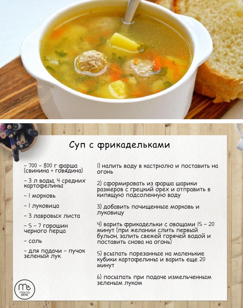Бульон с фрикадельками пошаговый рецепт