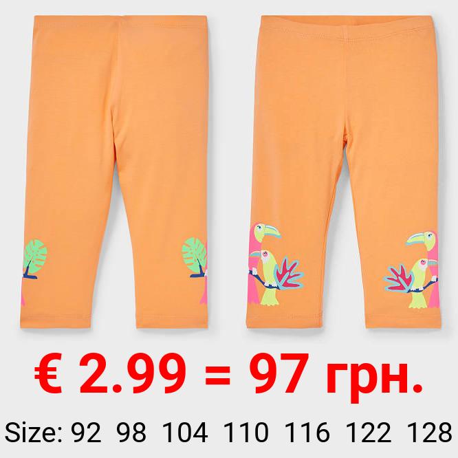 Capri-Leggings - Bio-Baumwolle