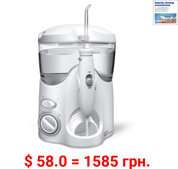 Waterpik Ultra Countertop Water Flosser Oral Irrigator, White