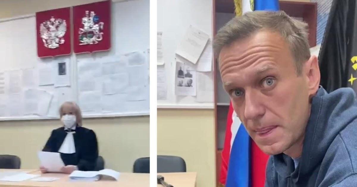 Суд отправил под стражу Алексея Навального на30суток