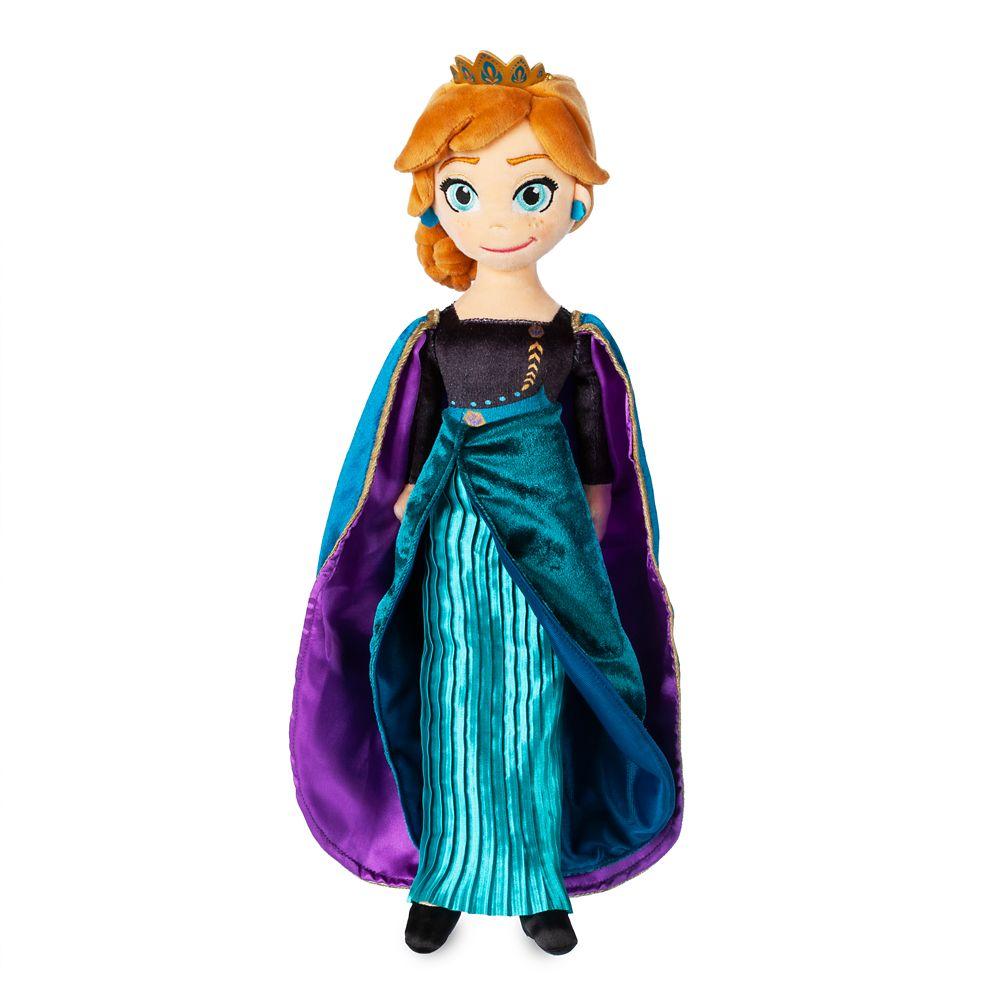 Queen Anna Plush Doll – Frozen 2 – Medium – 18''