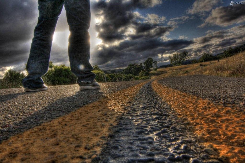 Картинка тяжелого пути