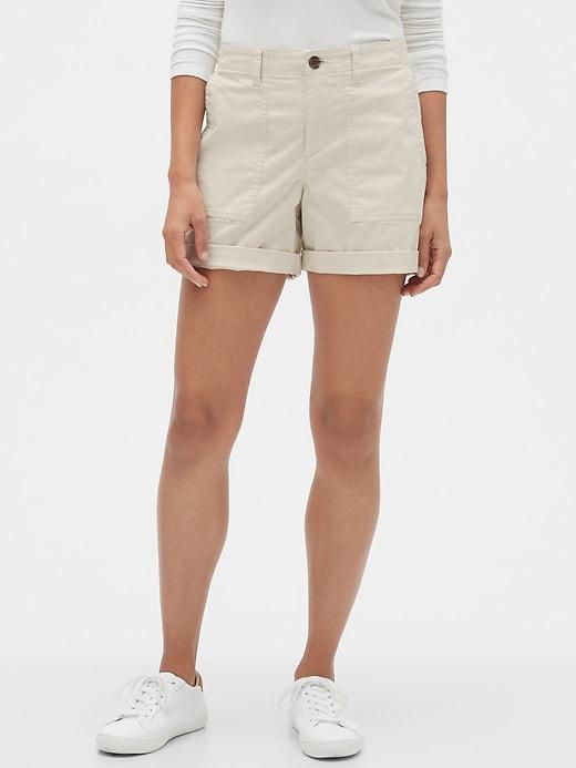 "5"" Girlfriend Khaki Shorts"