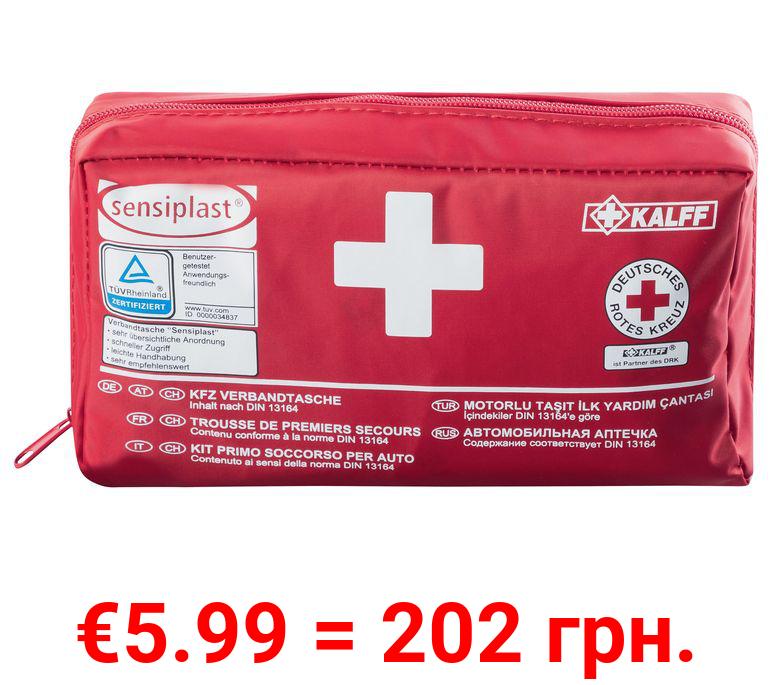 SENSIPLAST® Autoverbandtasche, 44-teilig, mit Anleitung