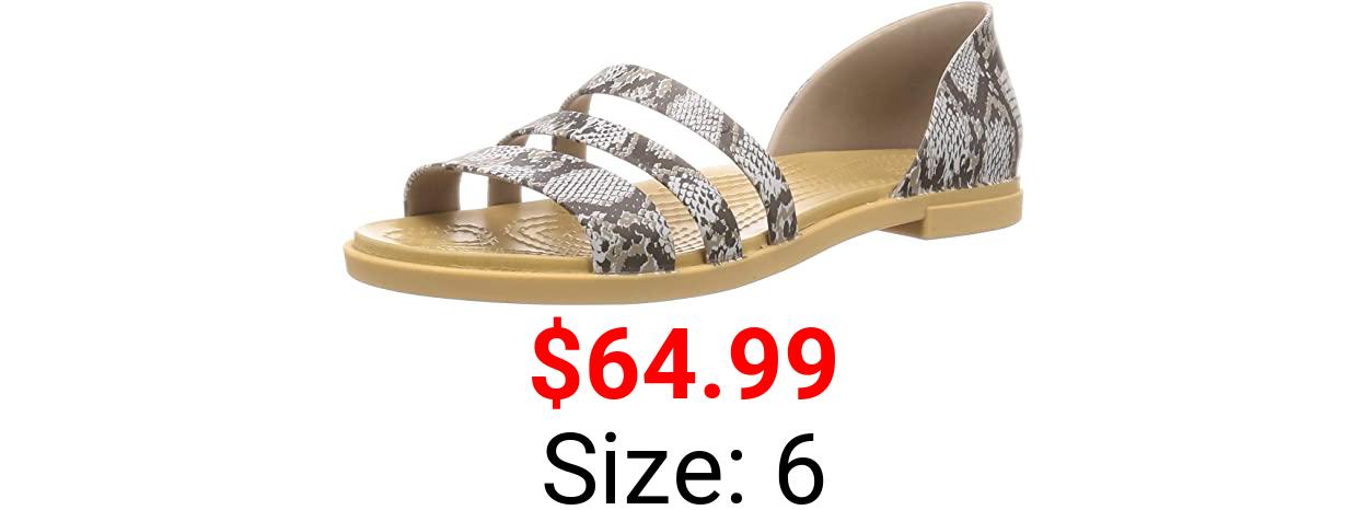 Crocs womens Tulum Open Flat