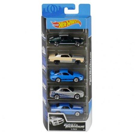 Hot Wheels 2020 Fast & Furious 5-Pack