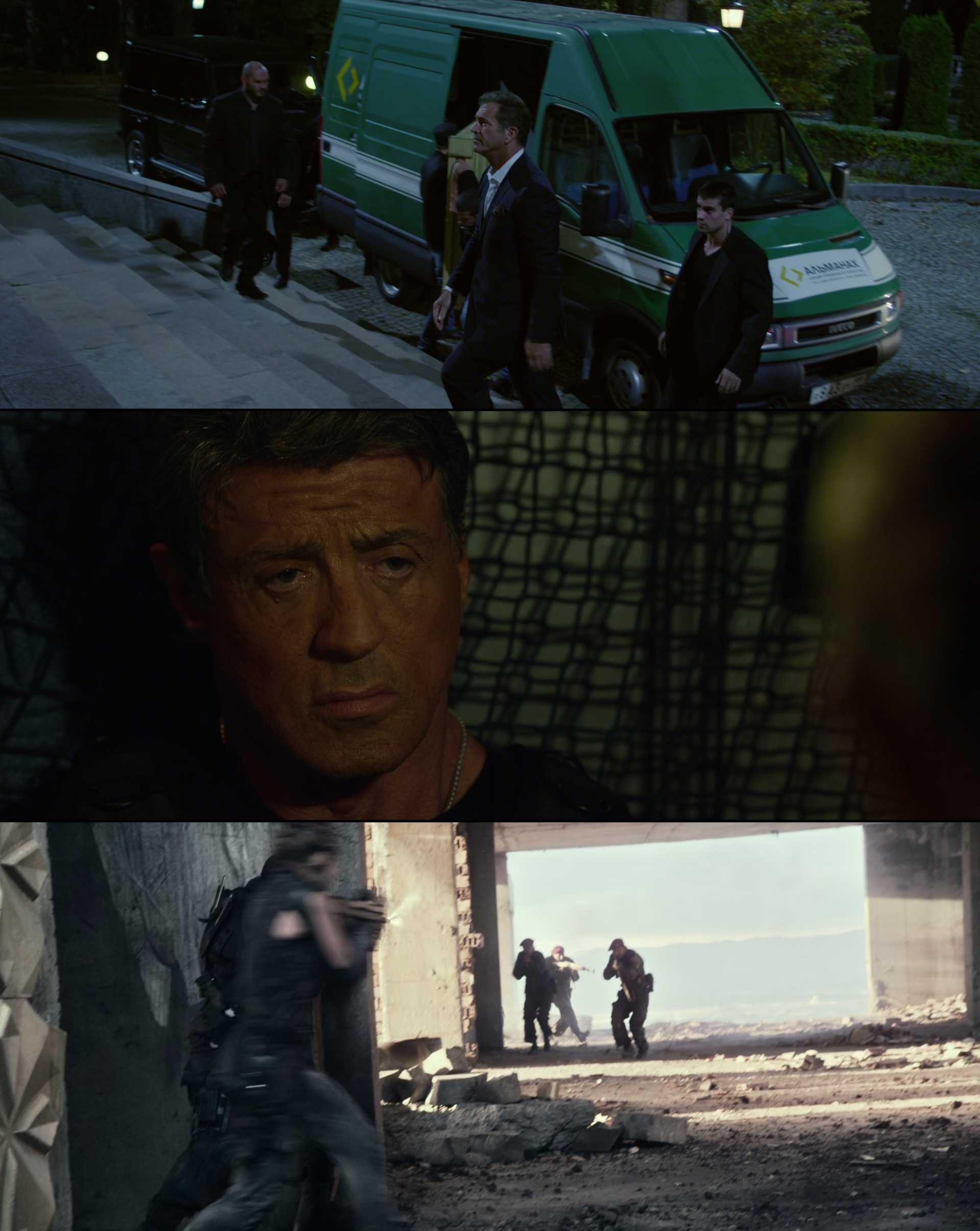 Screenshot of The Expendables 3 Movie