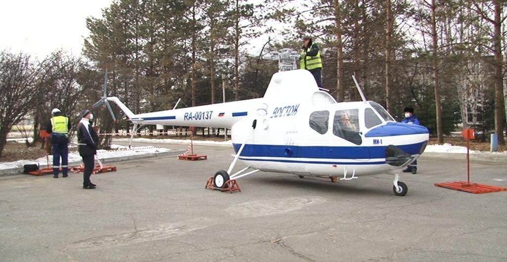 Конкурс на эскиз постамента для памятника Ми-1 стартовал в Хабаровске