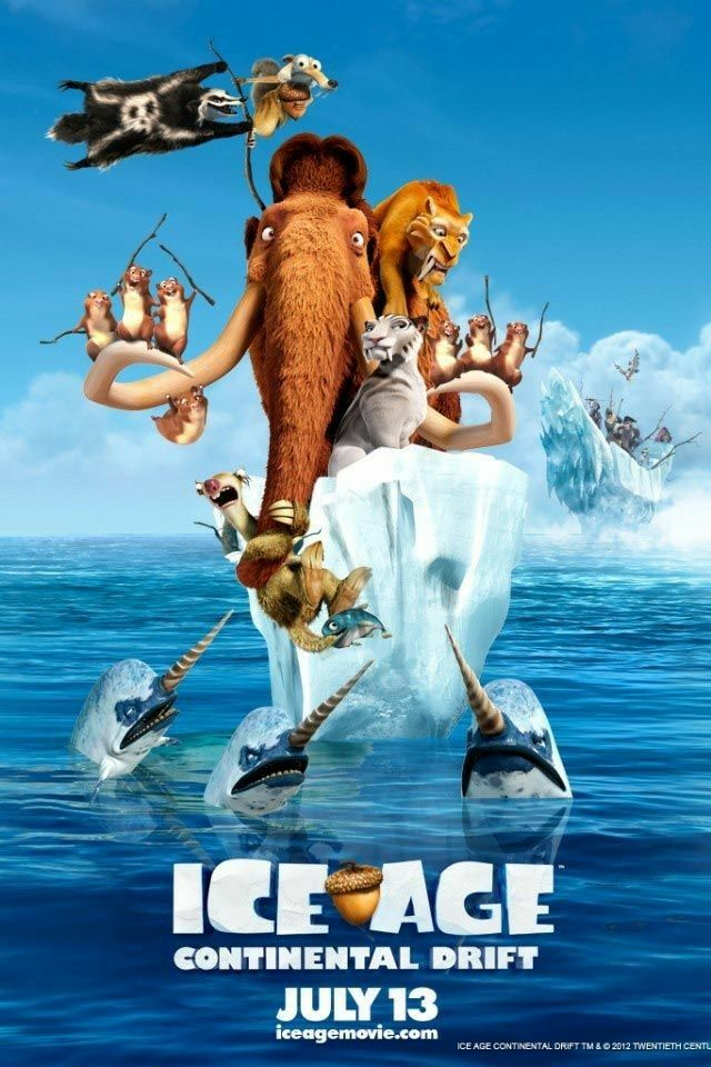 Free Download Ice Age: Continental Drift Full Movie