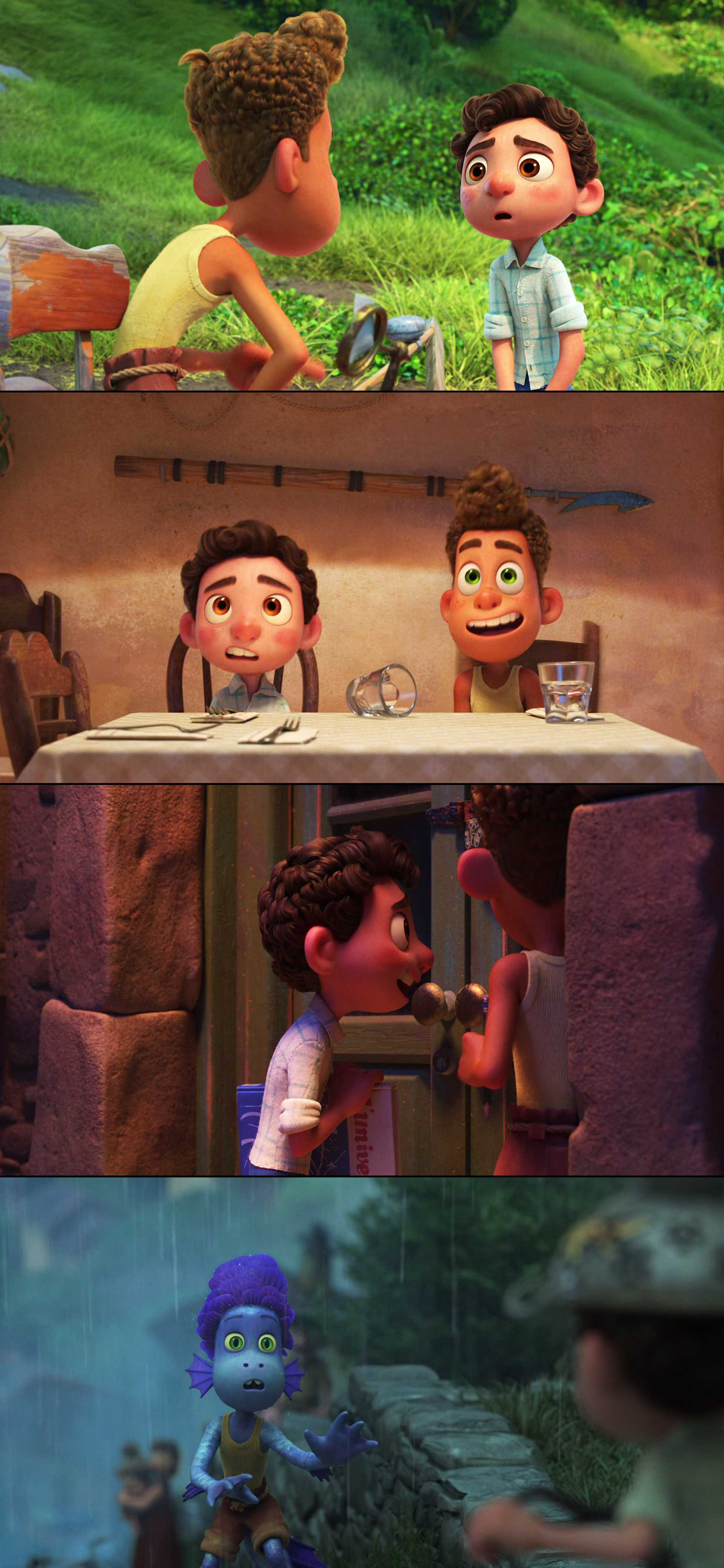 Screenshot of Luca Movie