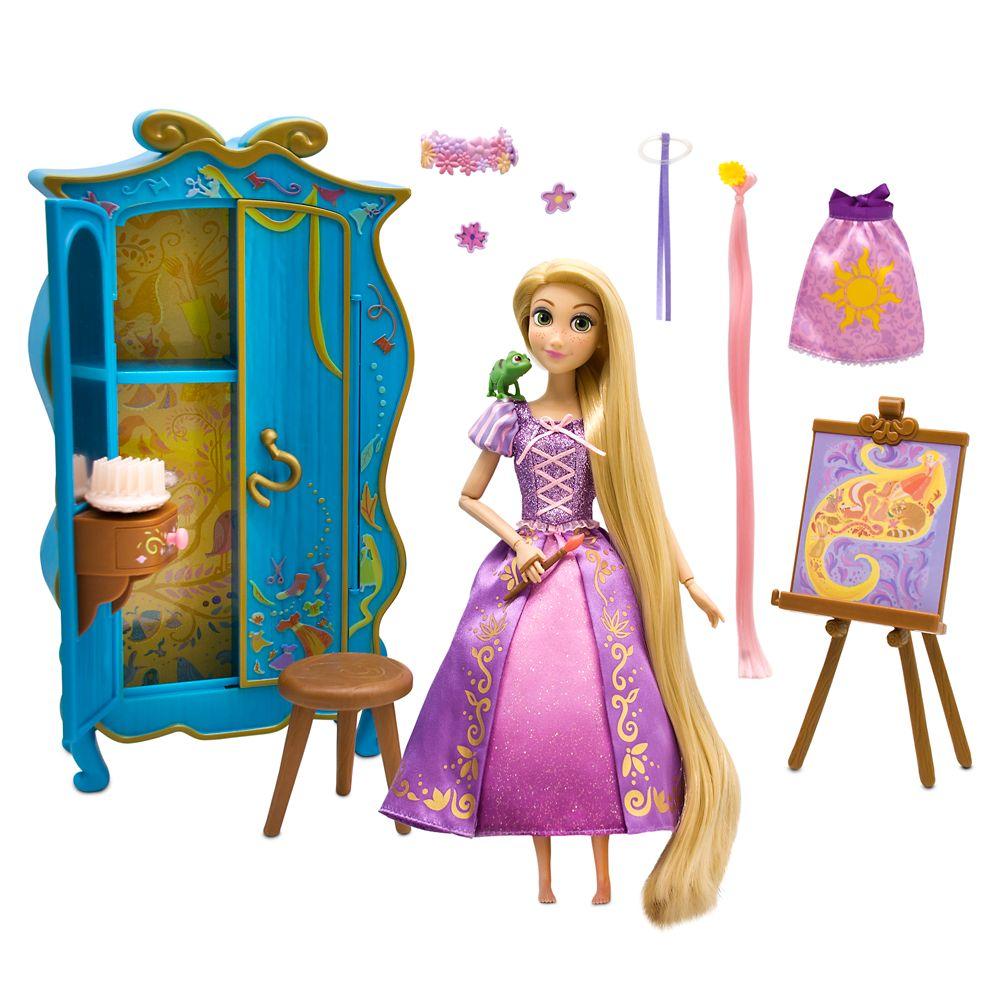 Rapunzel Classic Doll Wardrobe Vanity Play Set