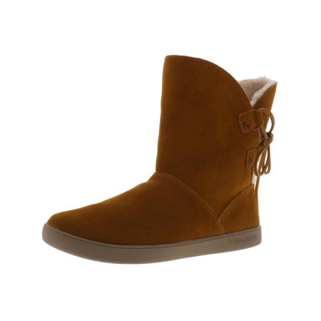 Koolaburra Womens Shazi Suede Lace Up Ankle Boots