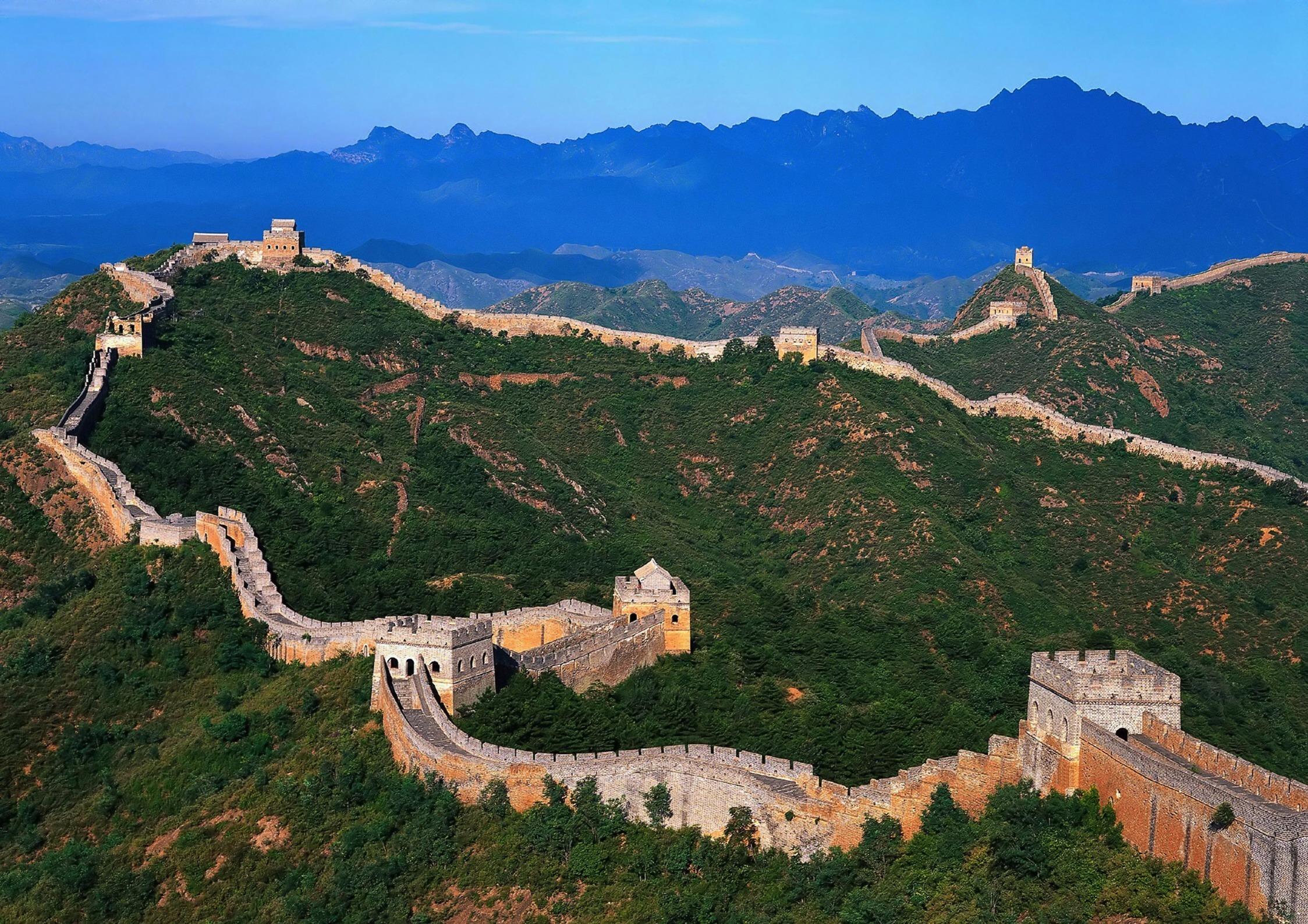 Великая китайская стена открытки