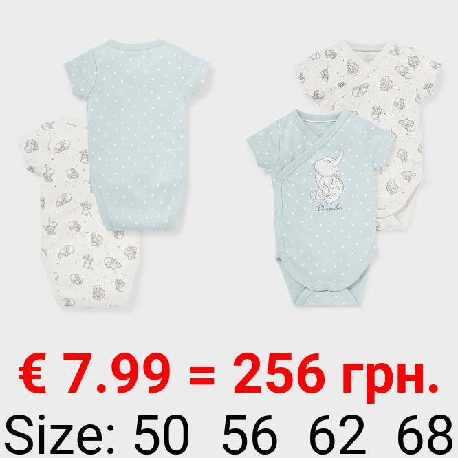 Multipack 2er - Dumbo - Baby-Wickelbody - Bio-Baumwolle