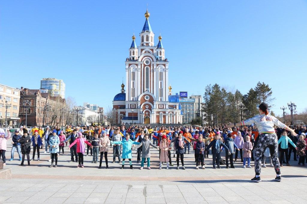 В Хабаровск возвращается «Зарядка для всех»