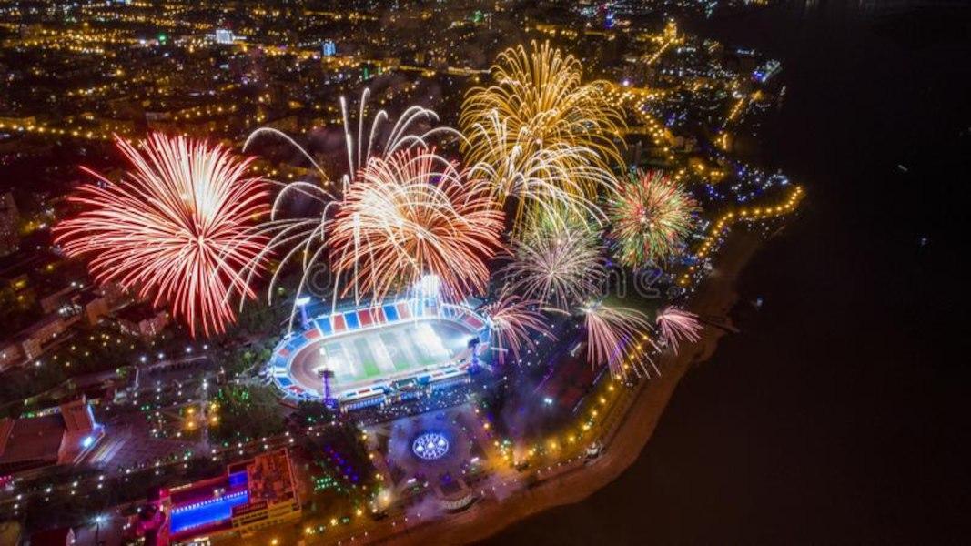 Праздничный фейерверк состоится ко Дню города в Хабаровске (2021)