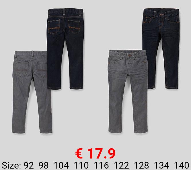 Slim Jeans - 2er Pack