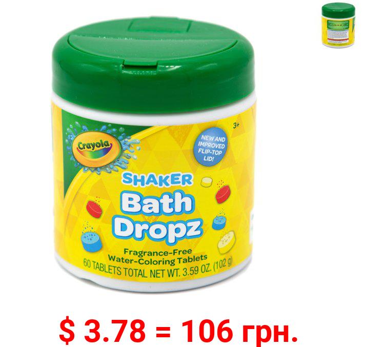 Crayola Bath Dropz Color, 2.68 OZ